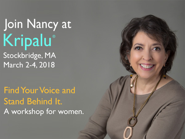 Kripalu Workshop with Nancy Swisher