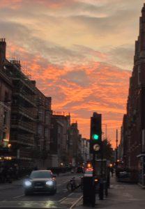 sunset, grateful