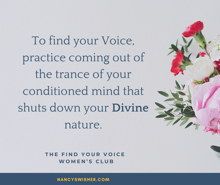 A list of fear about standing behind your Voice